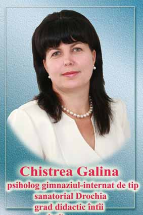 CHISTREA GALINA, director gimn. internat